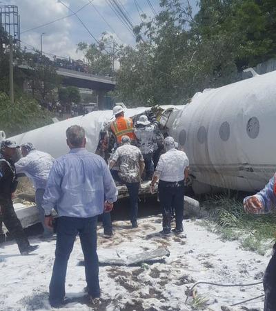 Honduras: Accidente aéreo deja al menos seis heridos
