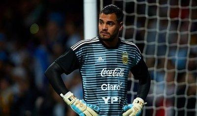 Sergio Romero es baja por lesión y se pierde el Mundial