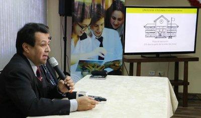 Obras de infraestructura escolar avanzaron un 39%
