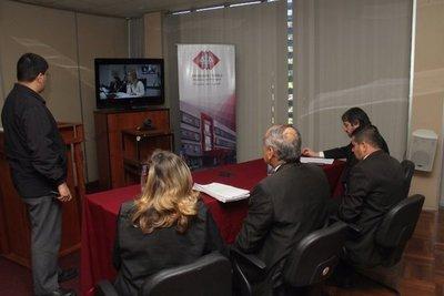 Pablo Medina: Declaran por videoconferencia