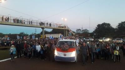 Hoy todo el Alto Paraná honra a María Auxiliadora