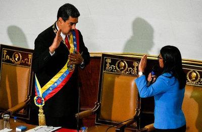 Maduro juró ante la Asamblea Constituyente y no frente al Parlamento