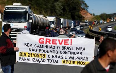 """Brasil: Gobierno y camioneros acordaron una """"tregua"""" de 15 días"""