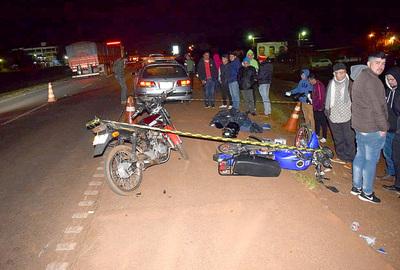 Camionero ebrio atropella y mata a motociclista sobre ruta la VII