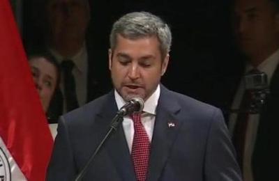 Mario Abdo Benítez fue proclamado como presidente electo de Paraguay