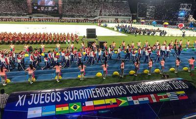 Iniciaron los XI Juegos Sudamericanos en Bolivia