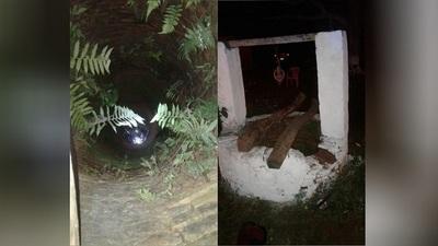 Hombre muere tras caer a un pozo