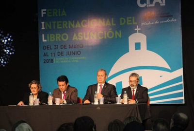 Habilitan oficialmente la Feria Internacional del Libro de Asunción