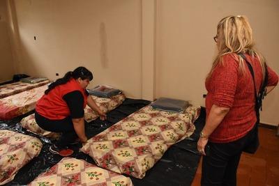 Habilitan albergue para indigentes en la capital del Alto Paraná
