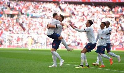 Inglaterra entra en ritmo con triunfo sobre Nigeria