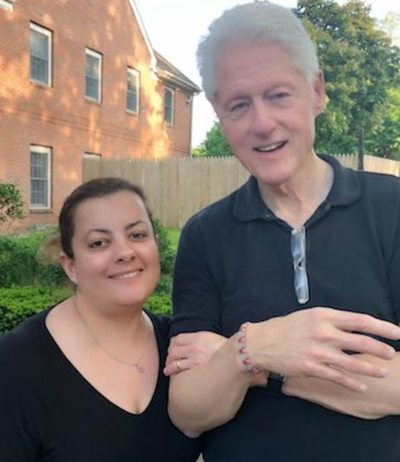 Expresi yanqui: Paraguaya estuvo con Bill Clinton