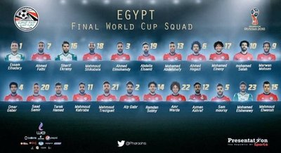 Los 23 de Egipto con Salah