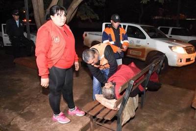 En Ciudad del Este realizaron tareas de rescate y asistencia
