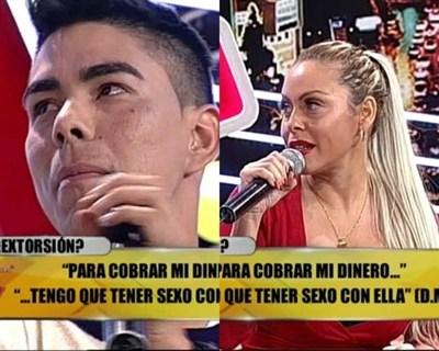 """Perla Alegre y """"El Chico Funky"""" se vieron las caras"""