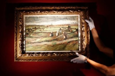 Paisaje de Van Gogh se subasta en 7 millones de euros