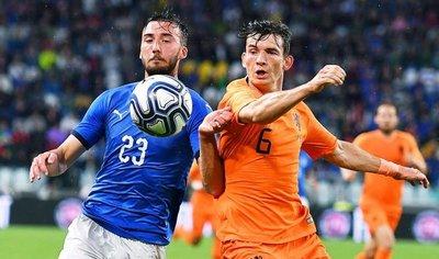 Italia y Holanda empatan en amistoso
