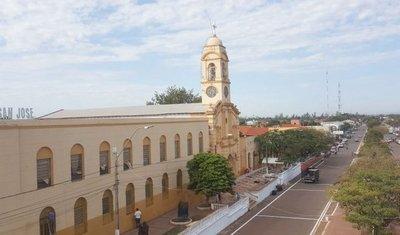 Reloj salesiano marca tiempo  en Concepción