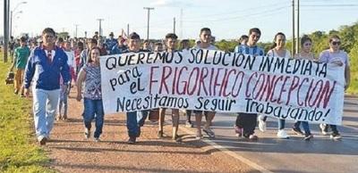 Nueva movilización a favor del Frigorífico Concepción