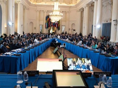 OEA aprueba resolución que conduce a histórica suspensión de Venezuela