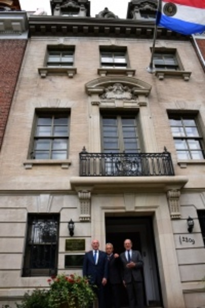 Inauguran nueva sede de embajada paraguaya en Washington