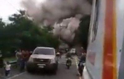 La furia del Volcán de Fuego en Guatemala