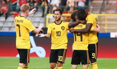 Una potente Bélgica golea a Costa Rica