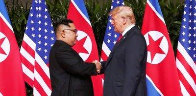 Trump augura relación fantástica con Kim