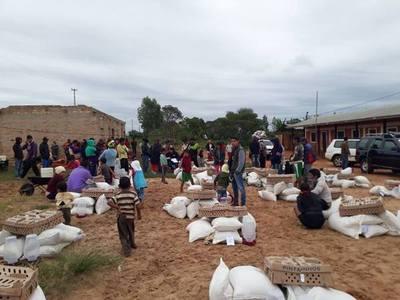 MAG entrega insumos para mejorar producción en comunidad indígena