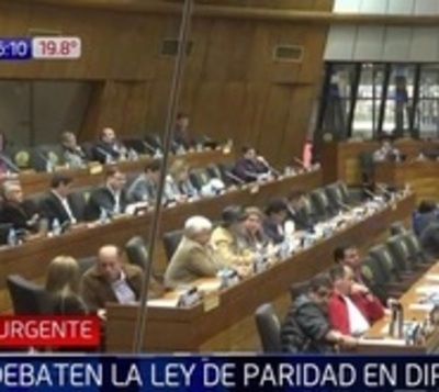 Diputados aprueban proyecto para concienciar sobre paridad