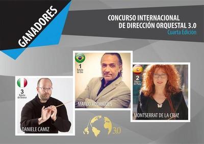 Ya están los ganadores del Concurso Internacional de Dirección Orquestal