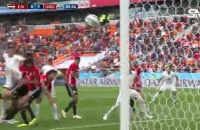 VIDEO: Uruguay derrotó por la mínima a Egipto en su debut mundialista