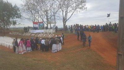 Conmemoran otro año más de la masacre en Curuguaty
