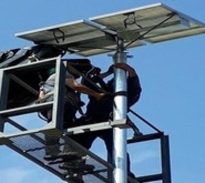Autopista Ñu Guasu inaugurará iluminación led con energía solar