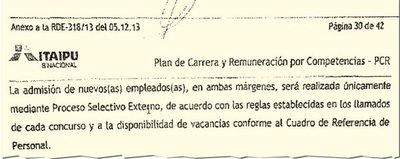 Itaipú modificó reglamento para el hijo de Galaverna