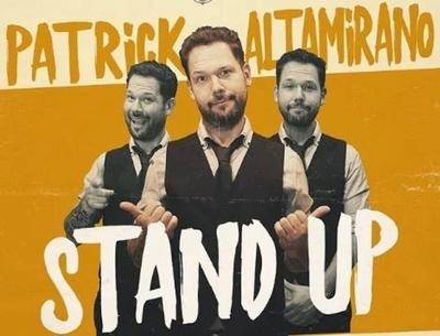 HOY / Patrick Altamirano sube a escena con su show de stand up