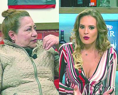 Ña Herminia hizo de las suyas en Polémica en el Bar