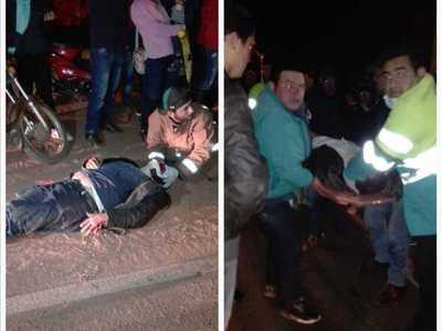 En accidente muere un motociclista y otro resultó herido
