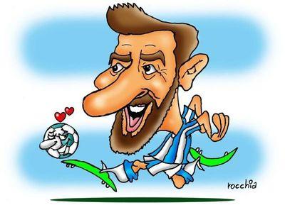 La alegría duró poco: Argentina empató con Islandia y Messi erró un penal