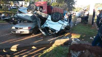 Grave accidente en el Km 5,5