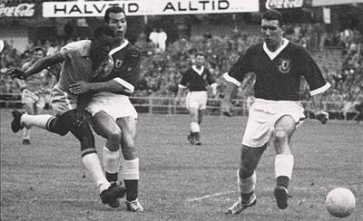 HOY / El primer gol de Pelé en un Mundial cumple 60 años