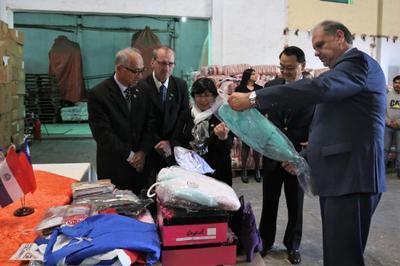 La SEN distribuirá abrigos y calzados donados por Taiwán
