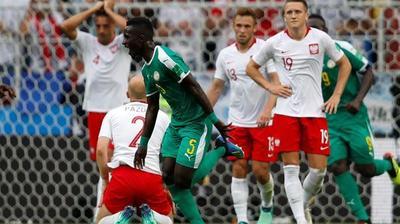 Sorpresiva victoria de Senegal sobre Polonia en el Mundial