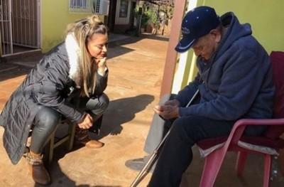 Marly Figueredo Pidió Compartir Más Con Los Ancianos Y Mostró El Ejemplo