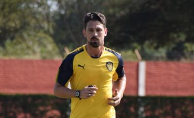 HOY / Jonathan Santana ya trabaja en el Sportivo Luqueño