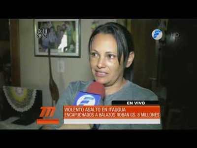 A balazos roban una vivienda en Itaguá