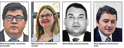 Jurado enjuicia a tres jueces y a un fiscal de Alto Paraná