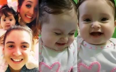 """""""Melody"""" La Hija De Marilina Y Will Cautivó En Redes Sociales Con Un Video"""