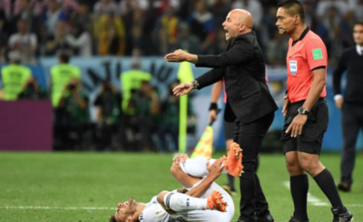 HOY / No sólo en cancha le va mal a la Albiceleste en la Copa del Mundo