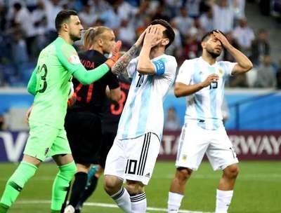 Argentina da lástima y cae ante Croacia