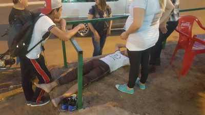 Caballo suelto ocasiona accidente en Concepción